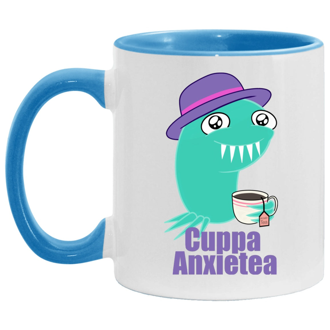 Cuppa Anxietea Mug - The Unchargeables