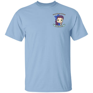 Cute Ankylosing Spondilitis Warrior Pale Skintone Shirts (Front pocket only) - The Unchargeables