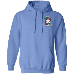 Cute Anxiety Warrior Hoodies And Sweatshirts (Front pocket only)
