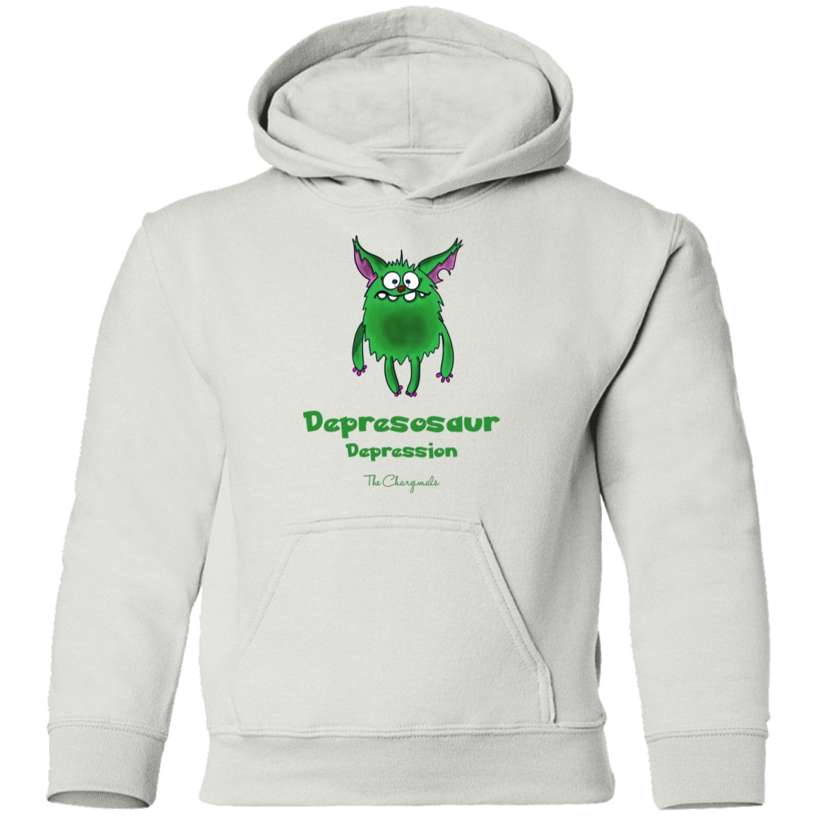 Apparel - D The Depression Monster Youth And Kids Shirts And Hoodies
