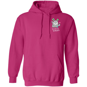 Diabetes Strong Hoodies And Sweatshirts With Beetse The Diabetes Chargimal (Front pocket only) - The Unchargeables