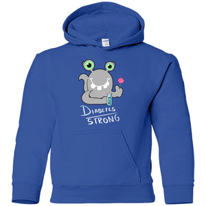 Diabetes Strong Youth Shirts and Hoodie With Beets The Diabetes Chargimal - The Unchargeables