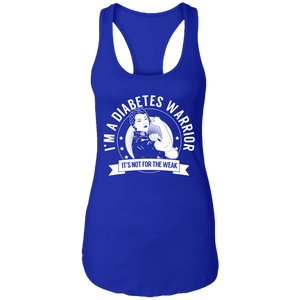 Diabetes Warrior Not For The Weak Shirts, Tank And Hoodie - The Unchargeables