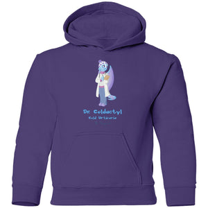 Dr. Fria the Cold Urticaria Monster youth and Kids Shirts and Hoodies - The Unchargeables