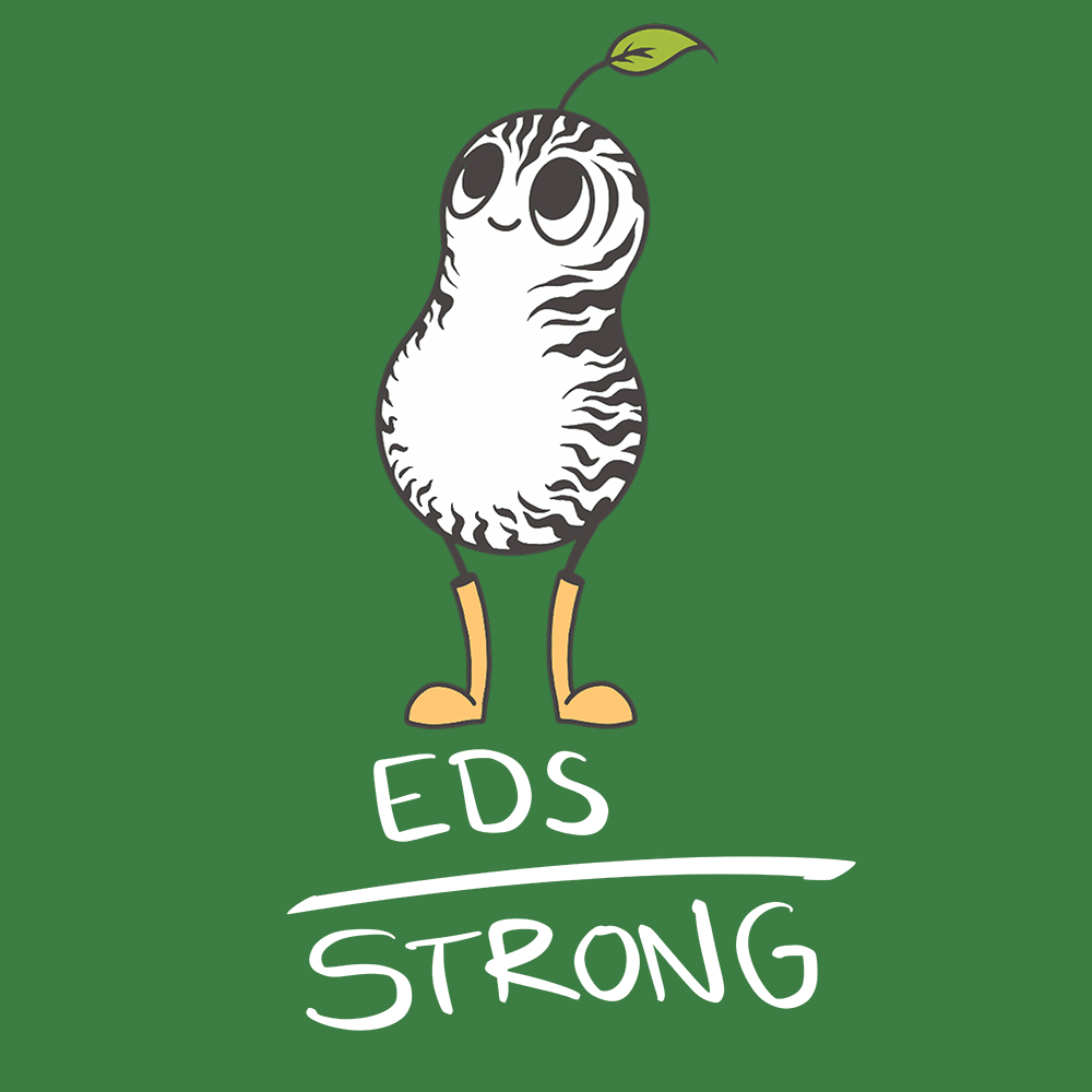 EDS Strong Shirts With Ehlers Danlos Syndrome Monster (Front pocket only) - The Unchargeables