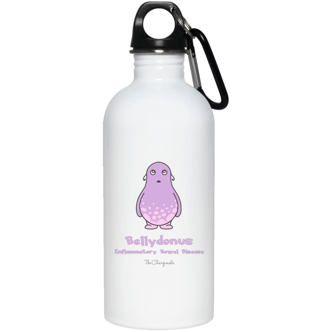 Elly the Inflammatory Bowel Disease Monster Mug, Travel Mug And Water Bottle - The Unchargeables