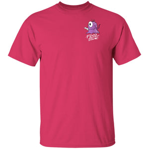 Fibro Strong Shirts With Fibromyalgia Monster (Front pocket only) - The Unchargeables