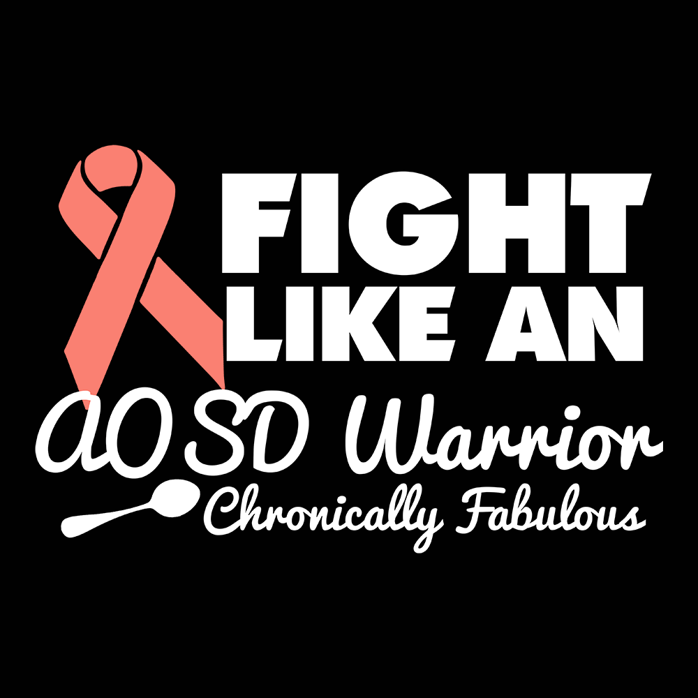 Fight Like An AOSD Warrior Shirts, Tank And Hoodie - The Unchargeables