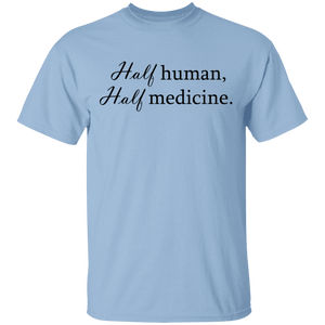 Half Human Half Medicine Shirts, Tank And Hoodie - The Unchargeables