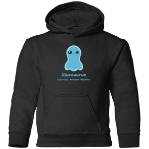 Apparel - Isa The Selective Mutism Disorder Monster Youth And Kids Shirts And Hoodies
