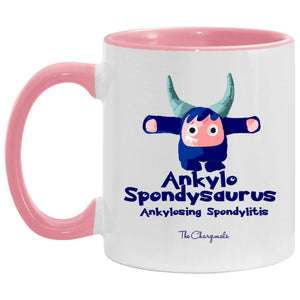 Kylo The Ankylosing Spondylitis Monster Mug, Travel Mug And Water Bottle - The Unchargeables