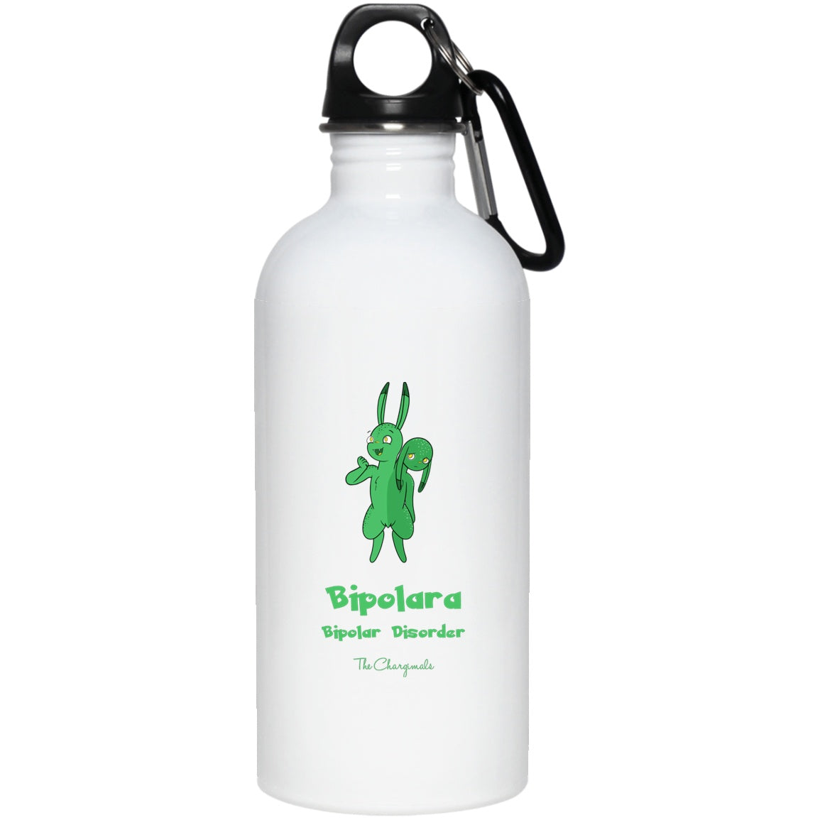 Lara the Bipolar Disorder Monster Mug, Travel Mug And Water Bottle - The Unchargeables