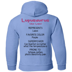 Apparel - Lupe The Lupus Monster Youth And Kids Shirts And Hoodies
