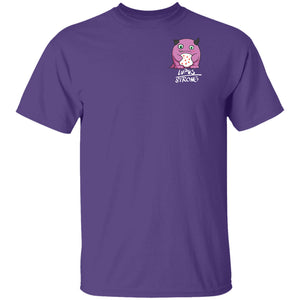 Lupus Strong Shirts With Lupus Monster (Front pocket only)
