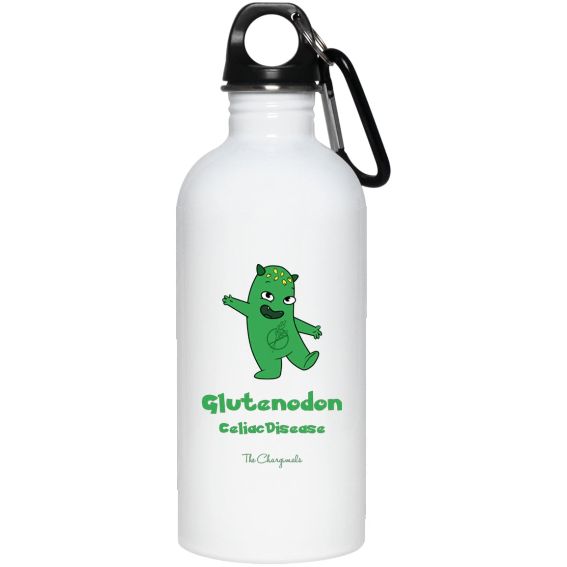 Lutes the Celiac Disease Monster Mug, Travel Mug And Water Bottle - The Unchargeables