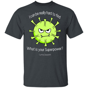 Lyme Disease Superpower Tick Shirts, Tank And Hoodie - The Unchargeables