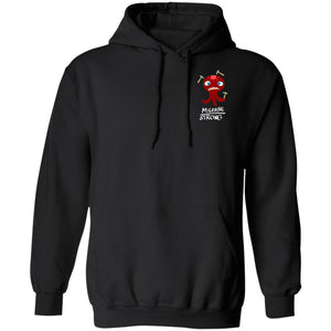 Migraine Strong Hoodies And Sweatshirts With Migraine Chargimal (Front pocket only) - The Unchargeables