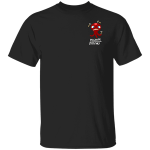 Migraine Strong Shirts With The Migraine Monster (Front pocket only)