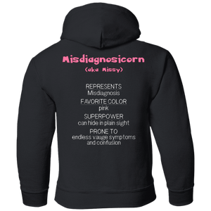 Apparel - Missy The Misdiagnosis Monster Youth And Kids Shirts And Hoodies