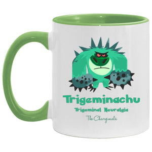 Mr. T the Trigeminal Neuralgia Monster Mug, Travel Mug And Water Bottle - The Unchargeables