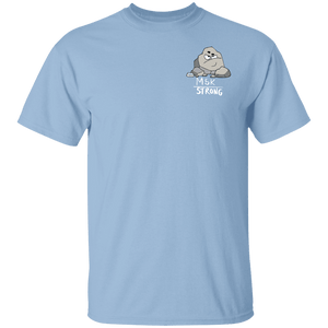 MSK Strong Shirts With The Chronic Kidney Stones Monster (Front pocket only) - The Unchargeables