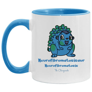 Ned the Neurofibromatosis Monster Mug, Travel Mug And Water Bottle - The Unchargeables