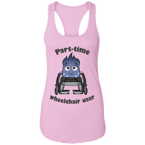 Part-time Wheelchair User Mya Shirts, Tank And Hoodie - The Unchargeables