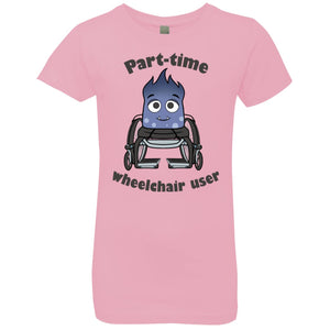 Part-time Wheelchair User Youth Shirts and Hoodie - The Unchargeables