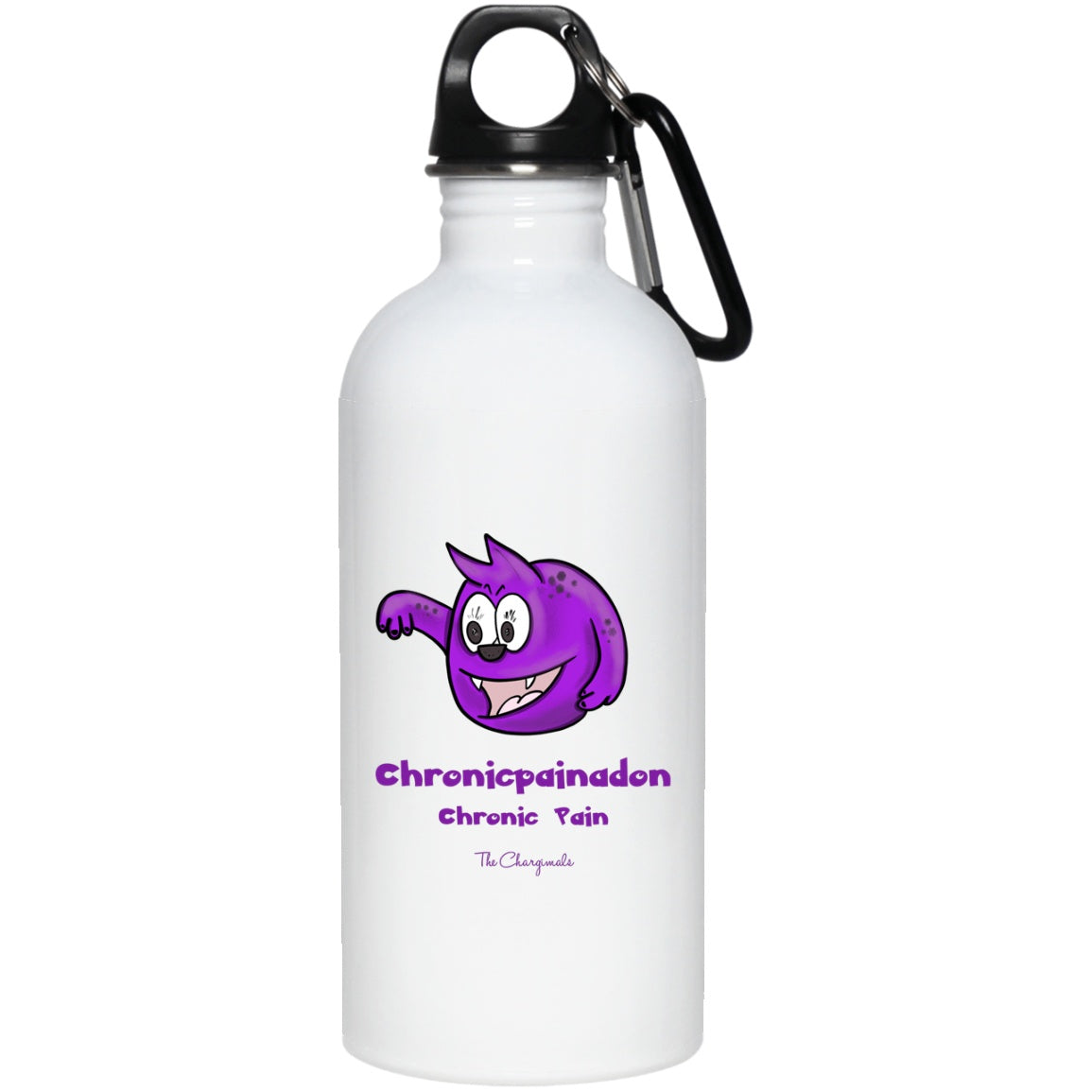 Penny the Chronic Pain Monster Mug, Travel Mug And Water Bottle - The Unchargeables