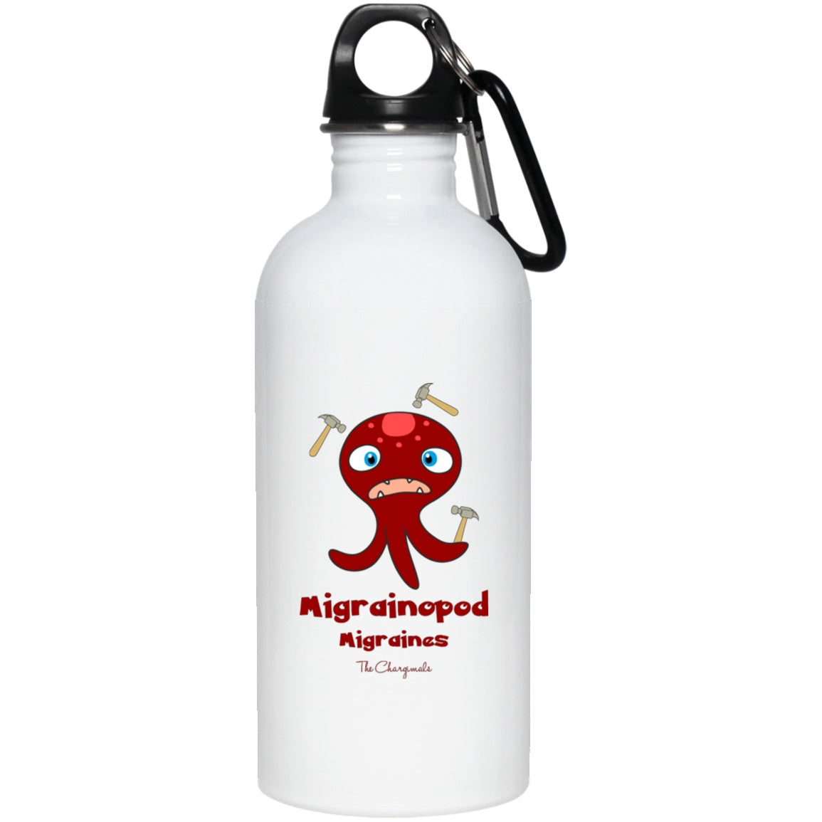 Pod the Migraine Monster Mug, Travel Mug And Water Bottle - The Unchargeables