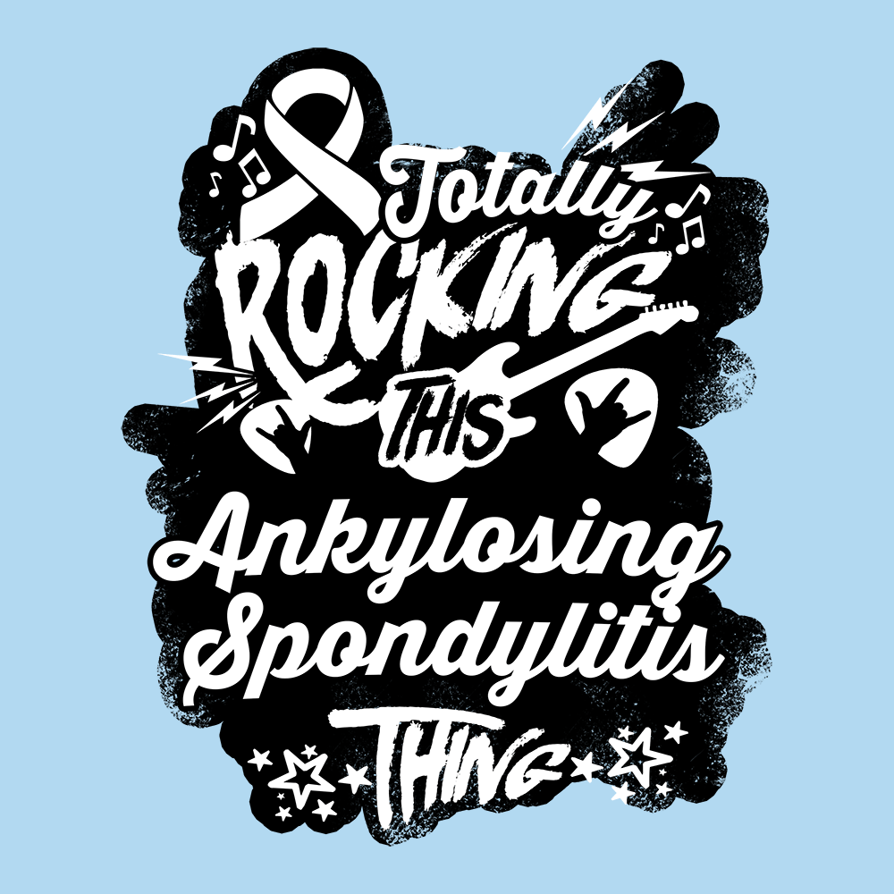Rocking Ankylosing Spondylitis Shirts, Tank And Hoodie - The Unchargeables