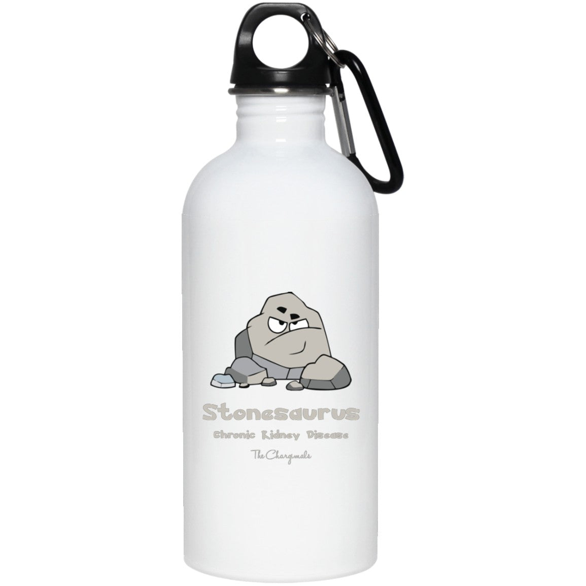 Rocky the Chronic Kidney Stones Monster Mug, Travel Mug And Water Bottle - The Unchargeables