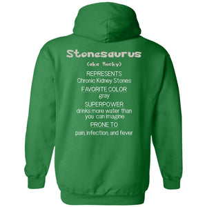 Rocky the Chronic Kidney Stones Monster Shirts and a Hoodie - The Unchargeables