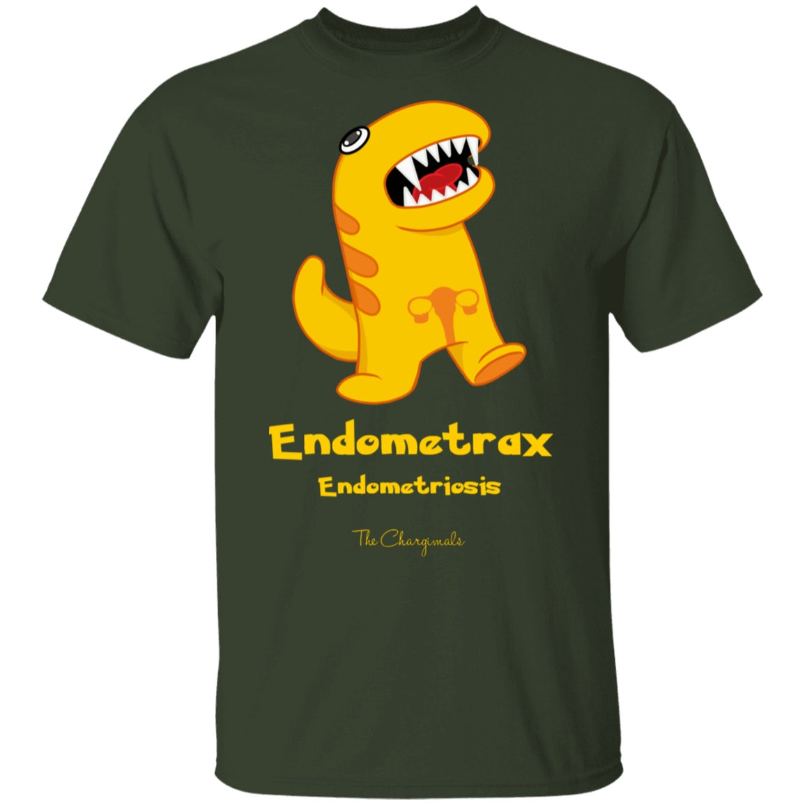 Sis the Endometriosis Monster Shirt and a Hoodie - The Unchargeables