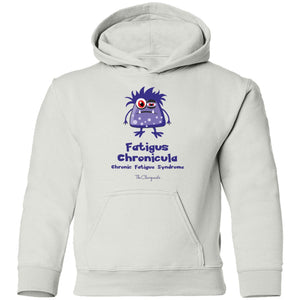 Sleepy the Chronic Fatigue Monster Youth and Kids Shirts and Hoodies - The Unchargeables