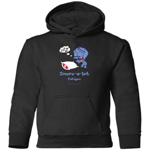 Snore the Fatigue Monster Youth and Kids Shirts and Hoodies - The Unchargeables