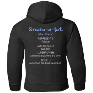 Apparel - Snore The Fatigue Monster Youth And Kids Shirts And Hoodies