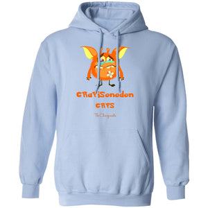 Sonny the CRPS Monster Shirt and a Hoodie