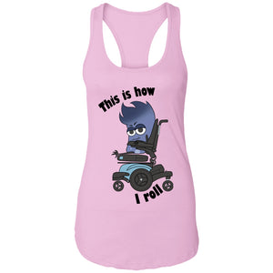 This Is How I Roll Mya Power Wheelchair	 Shirts, Tank And Hoodie - The Unchargeables