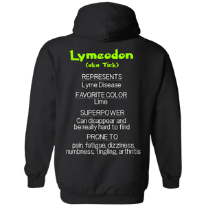 Tick the Lyme Disease Monster Shirt and a Hoodie - The Unchargeables