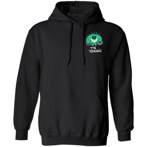 TN Strong Hoodies And Sweatshirts With Trigeminal Neuralgia Chargimal (Front pocket only) - The Unchargeables