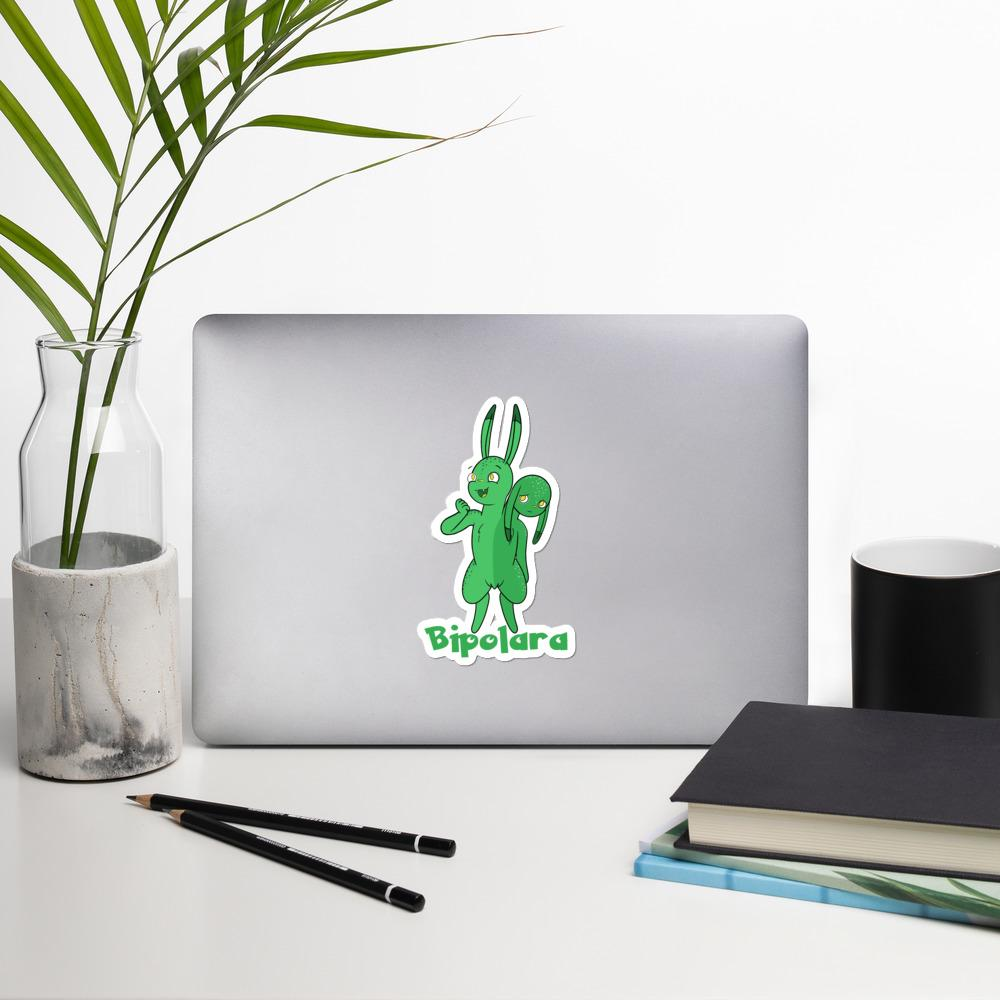 Biploara The Bipolar Disorder Monster Sticker - The Unchargeables