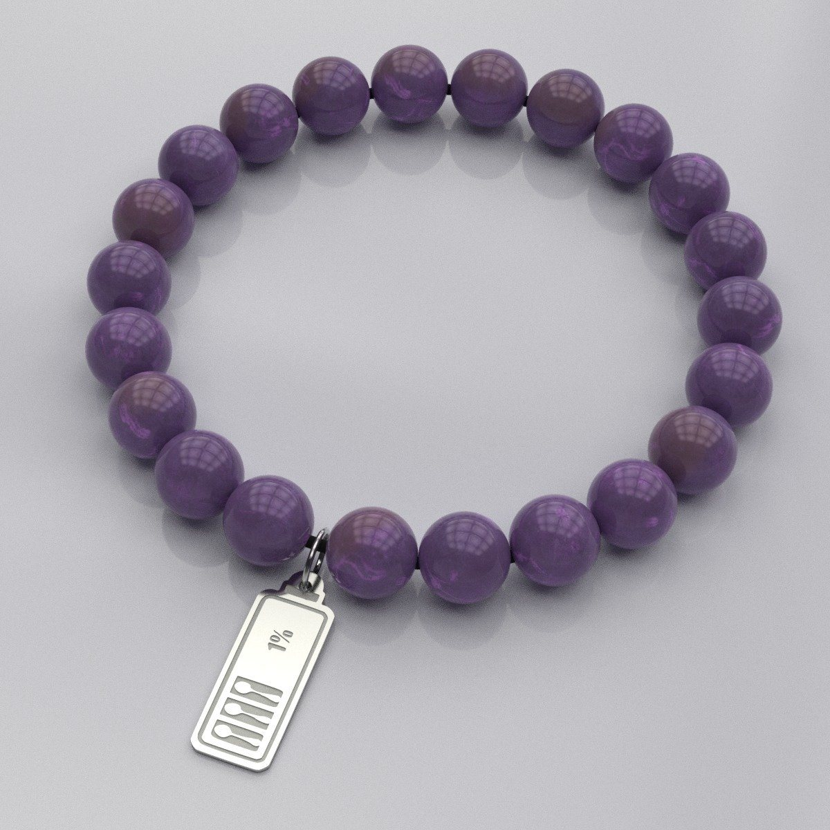 Low Spoon Battery Beads Bracelet - The Unchargeables