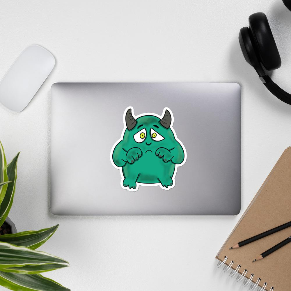 C. C. the Interstitial Cystitis Monster Sticker - The Unchargeables