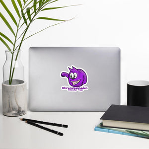Chronicpainadon the Chronic Pain Monster Sticker - The Unchargeables