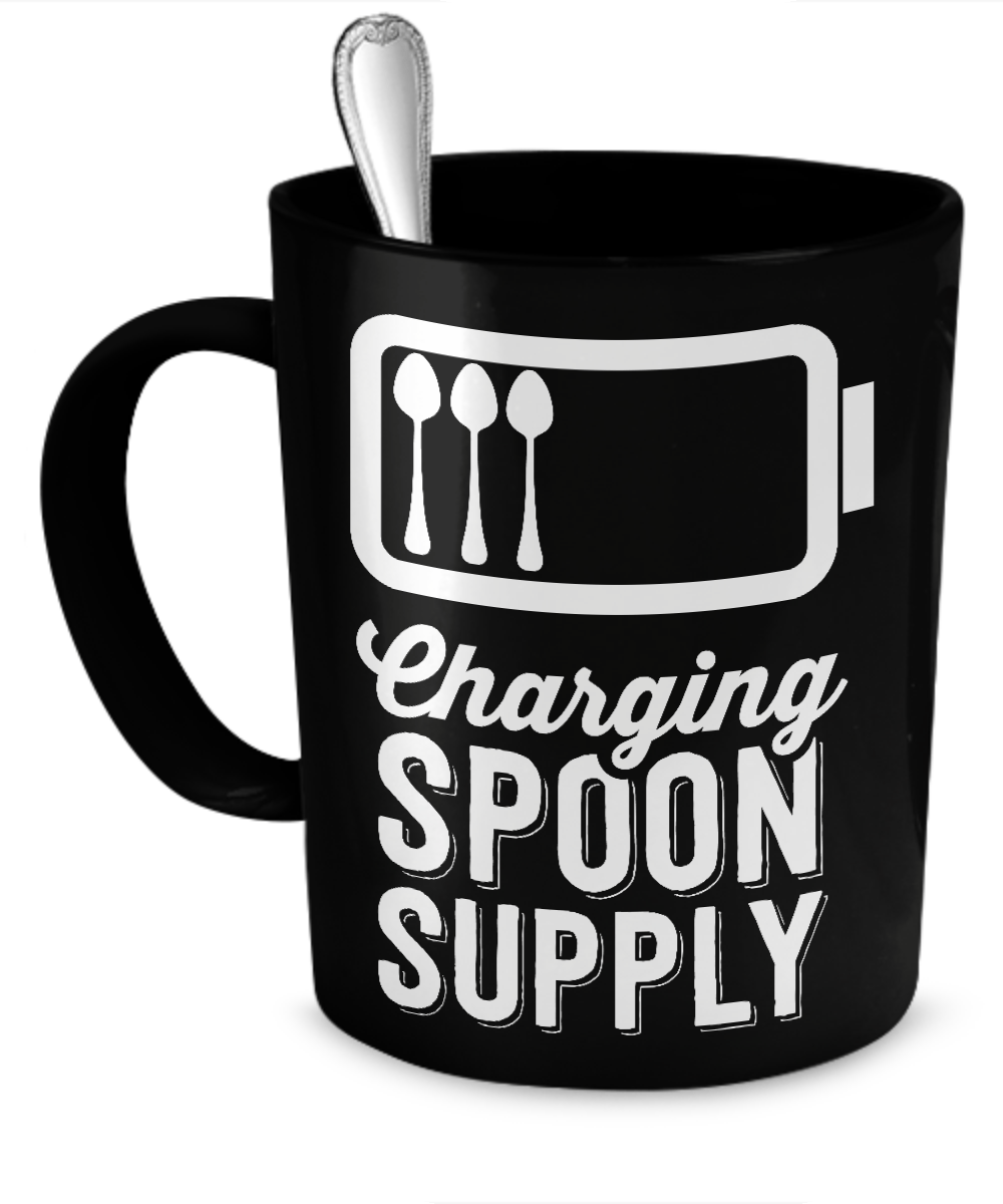 Charging Spoon Supply Mug - The Unchargeables