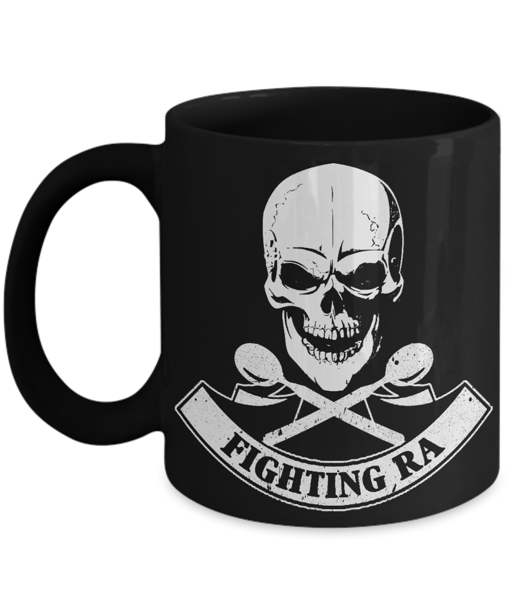 Coffee Mug - Rheumatoid Arthritis - Fighting RA Skull Mug