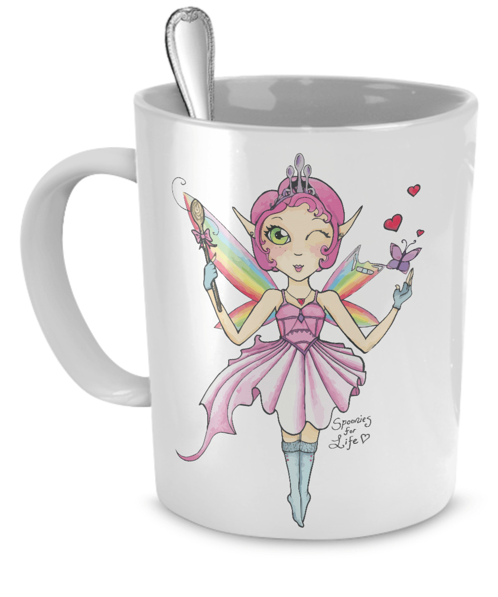 Coffee Mug - Spoon Fairy Mug