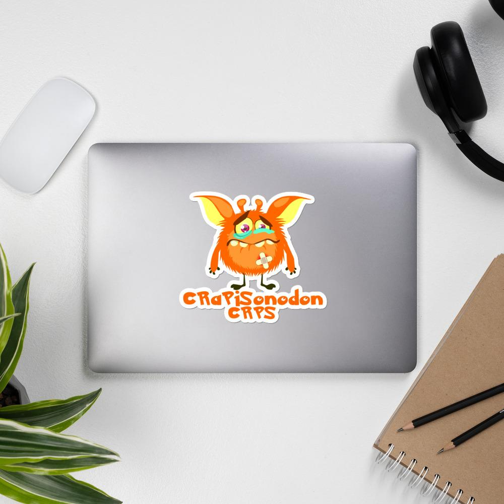 CRaPiSonodon the CRPS Monster Sticker - The Unchargeables
