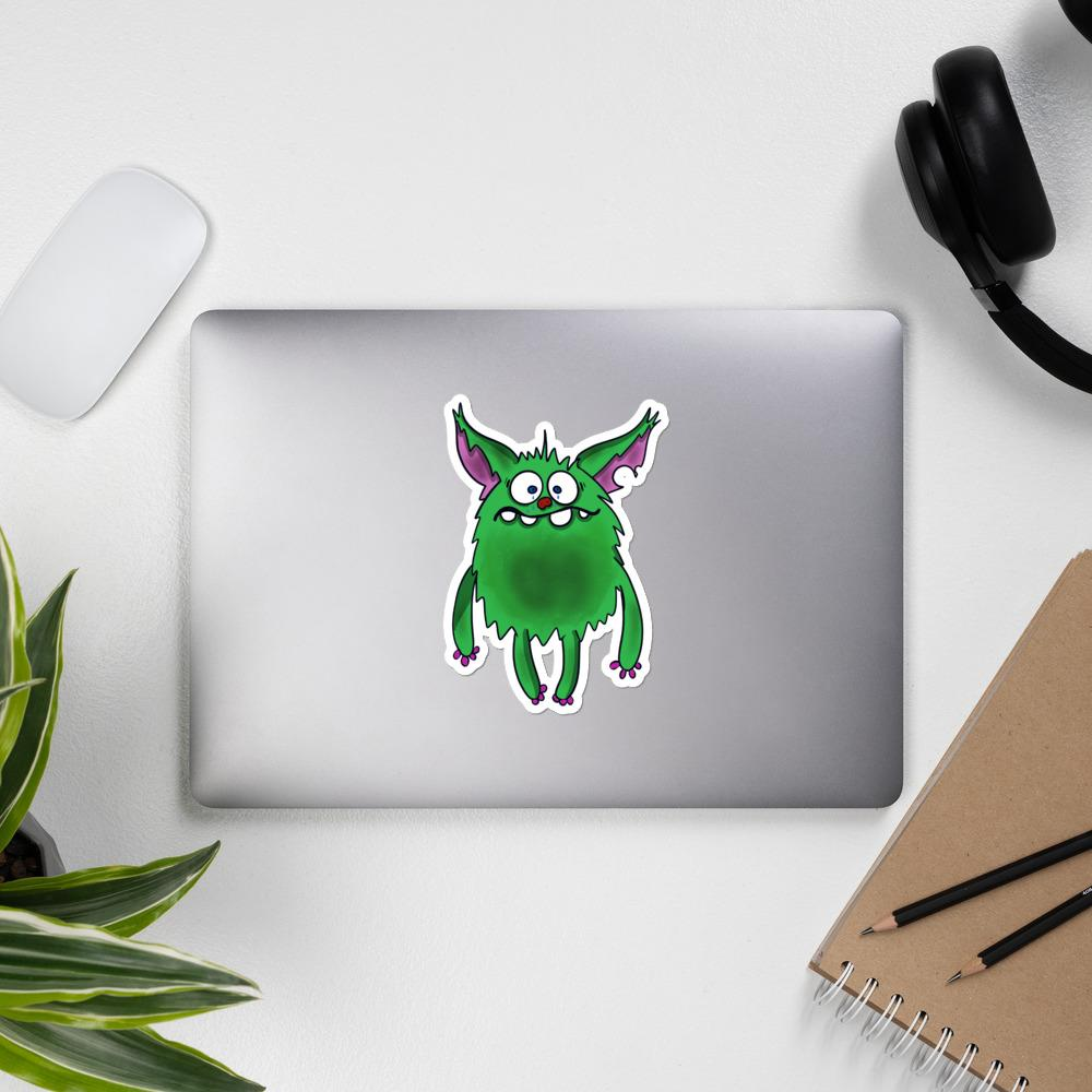 D the Depression Monster Sticker - The Unchargeables